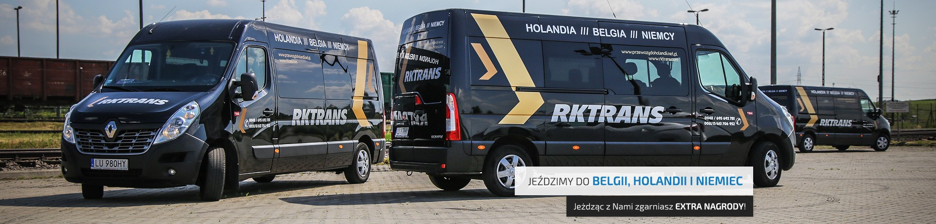 busy rktrans do Belgii, Holandii i Niemiec