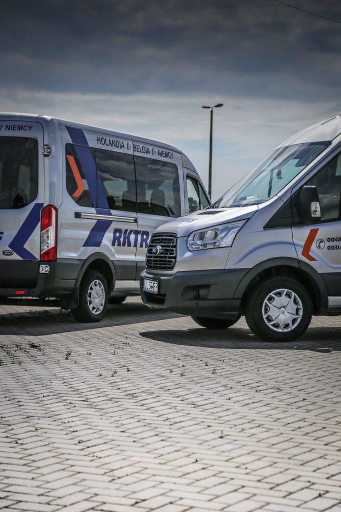tanie przewozy do Niemiec - busy ford rktrans