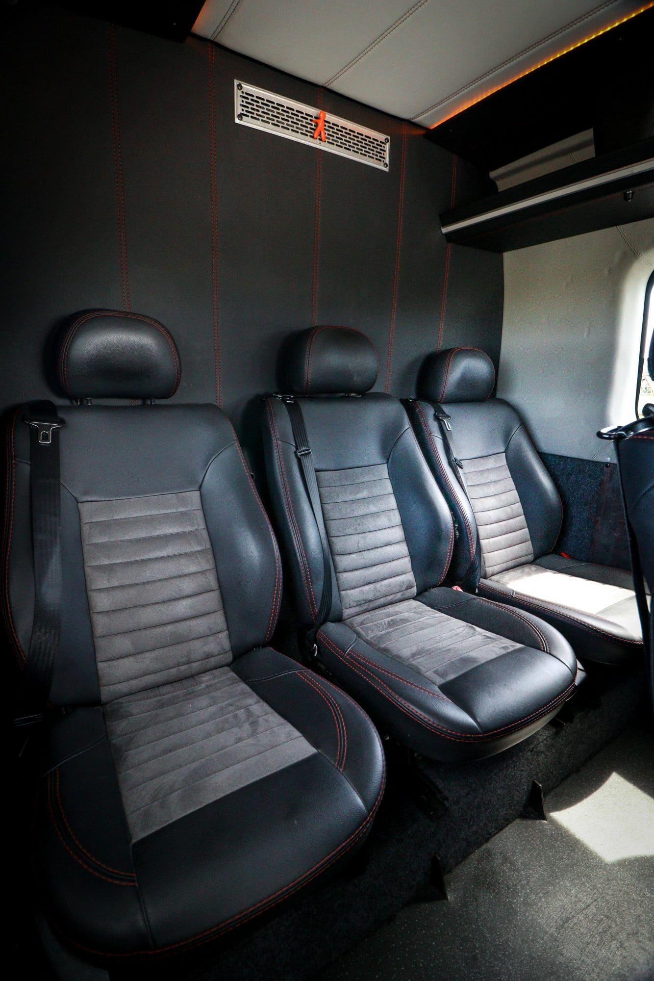 Wnętrze busa rktrans